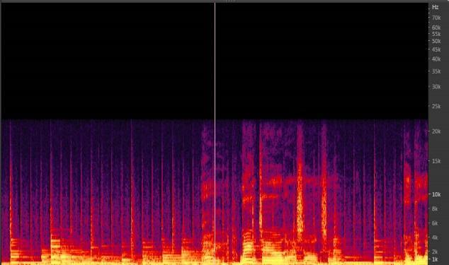 図2 CDを176.4KHzでアップサンプル